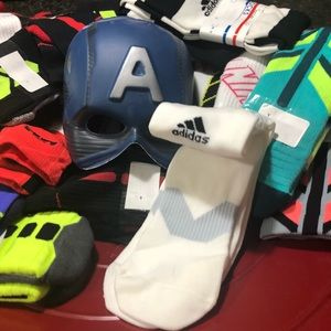 Adidas soccer socks, 2 for $24 excellent condition